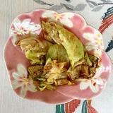 レタス の炒め煮