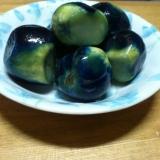 薄皮丸茄子のナス漬(ビン漬け)