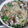 古漬け白菜と豚肉春雨の煮込み