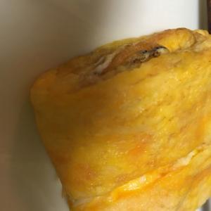 シラスとチーズの卵焼き