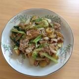 白菜と豚肉のあんかけ(^.^)