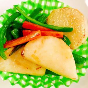 余った野菜でお弁当おかず☆ぱぱっと野菜炒め