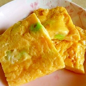 お弁当に~彩り玉子焼き(玉子1個)