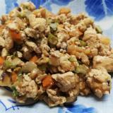 野菜たっぷり!卵なしの炒り豆腐