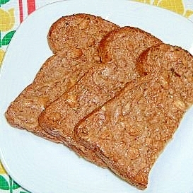 超簡単☆ピーナッツバターの風味が贅沢なラスク