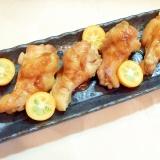 山椒漬け鶏手羽元のオーブン焼き
