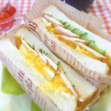 トロトロ卵のサンドイッチ♡