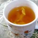 マイカップでレンジで簡単野菜コンソメスープ