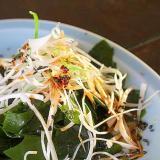 若芽のピリ辛サラダ