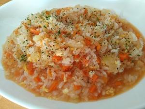 お野菜いっぱい♡「簡単トマトリゾット」