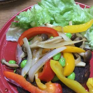 カフェ風⭐️ひじきの豆腐ハンバーグ