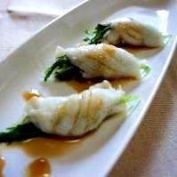 白身魚のレンジ蒸し