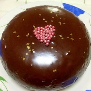 炊飯器でバレンタイン♡ザッハトルテ
