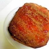 苺ジャムシナモントースト
