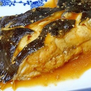 フライパンでサッと☆ 「カレイの味噌煮」