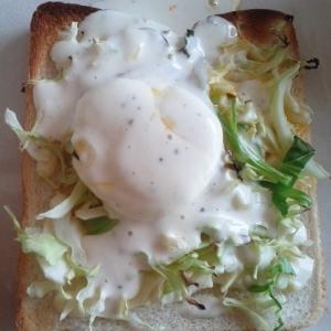 簡単半熟エッグトースト