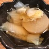 柔らか旨煮!白菜と大根のトロトロスープ!