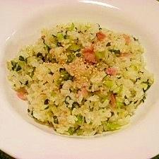 小松菜カルシウム炒飯