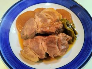 豚肉の生姜煮
