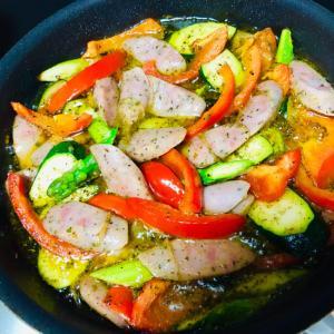 彩野菜のアヒージョ