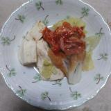 キムチ豆腐煮