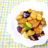 イタリアン★夏野菜のガーリック風味炒め★