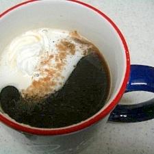 いつでも気軽に♥ウインナコーヒー♥シナモン風味