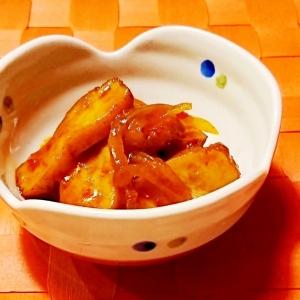 さつま揚げと玉ねぎの豆板醤煮