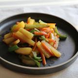 カレー風味の野菜きんぴら
