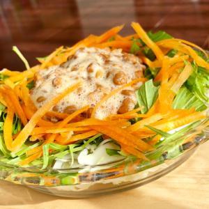 簡単納豆サラダ