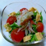 パクチーごま油サラダ