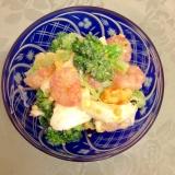 海老とブロッコリーの卵サラダ