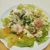 えびとブロッコリーのタルタルサラダ