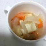 離乳食後期☆厚揚げ豆腐と大根のコンソメ(*^^*)