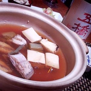 しみじみ美味しい、うまづらはぎの小鍋仕立て