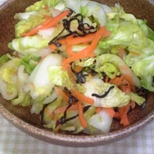 白菜キャベツ和え