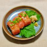 漬けまぐろの握り寿司