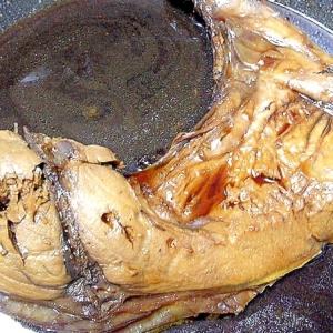 生姜を効かせた鮪のカマ煮