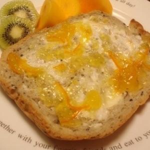 クリームチーズとオレンジマーマレード♪トースト