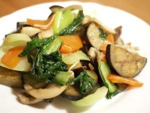 余り野菜で♪中華風野菜炒め