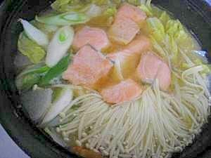 寒い日には☆石狩鍋♪