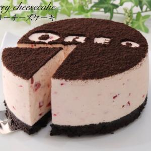 オレオでストロベリーチーズケーキ
