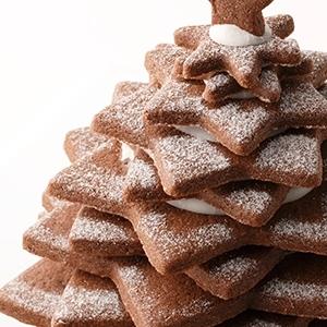 簡単キットで★お菓子のクリスマスツリー