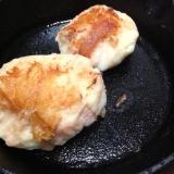 明太子ポテト焼き