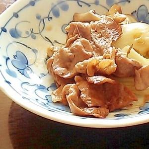 マイタケと白菜の中華風炒め
