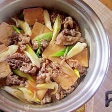 肉豆腐~くず煮