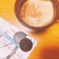 コーヒーマシュマロと酒粕で♡ほっこりドリンク