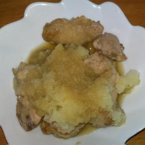 ヘルシー鳥肉のおろし煮