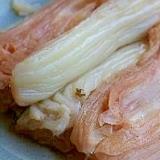 大ぶり白菜のローレル煮