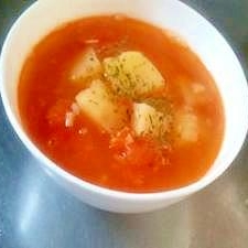 じゃがいもとトマトのスープ